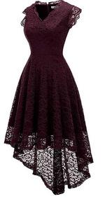 Vestido De Fiesta Juvenil Violeta Ropa Calzados Y