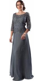 Vestido De Fiesta Largo Liverpool Vestidos Mujer Largos