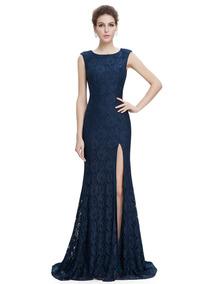 41fd33608 Impresionante Vestido Color Azul Francia - Vestidos de Mujer en ...