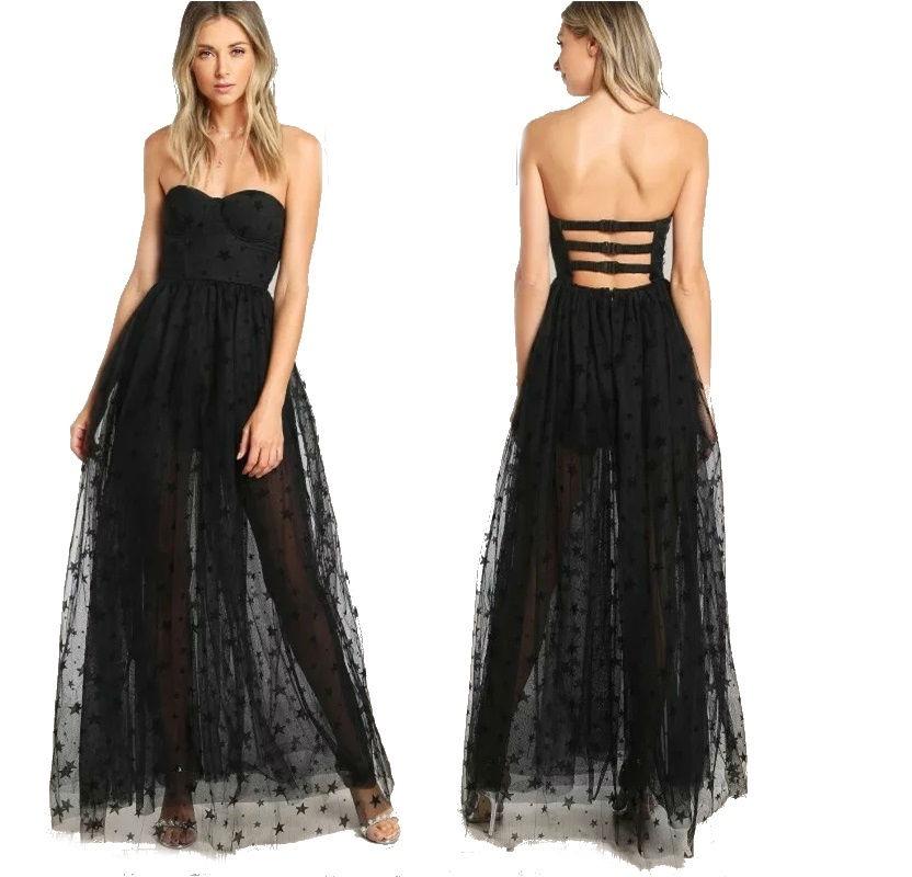 Vestidos fiesta 2019 negro