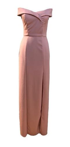 vestido fiesta modelo annette breteles bajos brishka v-0123