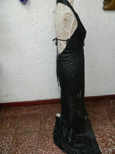 vestido  fiesta nº 158 / imitacion transparencia  bolocco