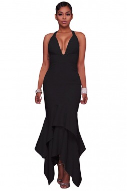 8b840a68b Vestido Fiesta Negro Elegante Ropa Dama Envio Gratis - $ 549.00 en ...