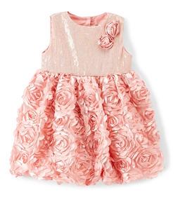 398396fd4 Vestido De Raso Rosa Para Nena - Vestidos en Mercado Libre Argentina