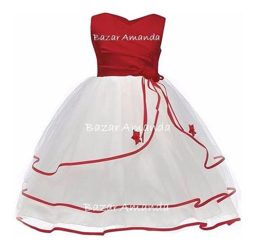 vestido fiesta niña - bazar amanda