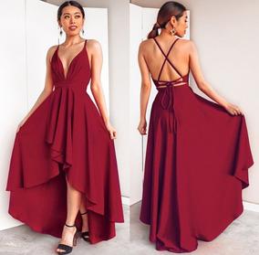 d75370e5a0c6 Vestido Fiesta Noche Informal Importado ! Ultima Moda Nb