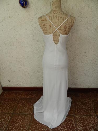 vestido fiesta/ novia   alta costura