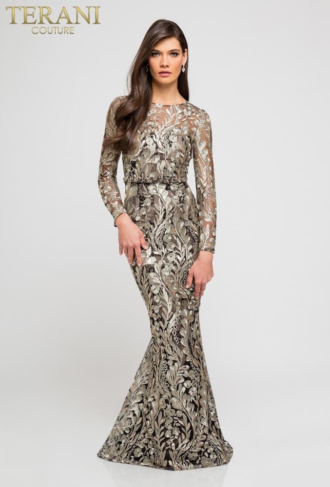 Costura en vestido de fiesta