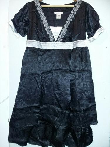 vestido fiesta o noche en raso,talle xl,de lolita.nuevo.