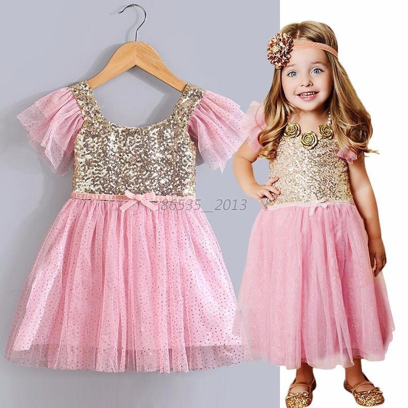 Famoso Vestido Rosa Niña De Baile Modelo - Colección del Vestido de ...
