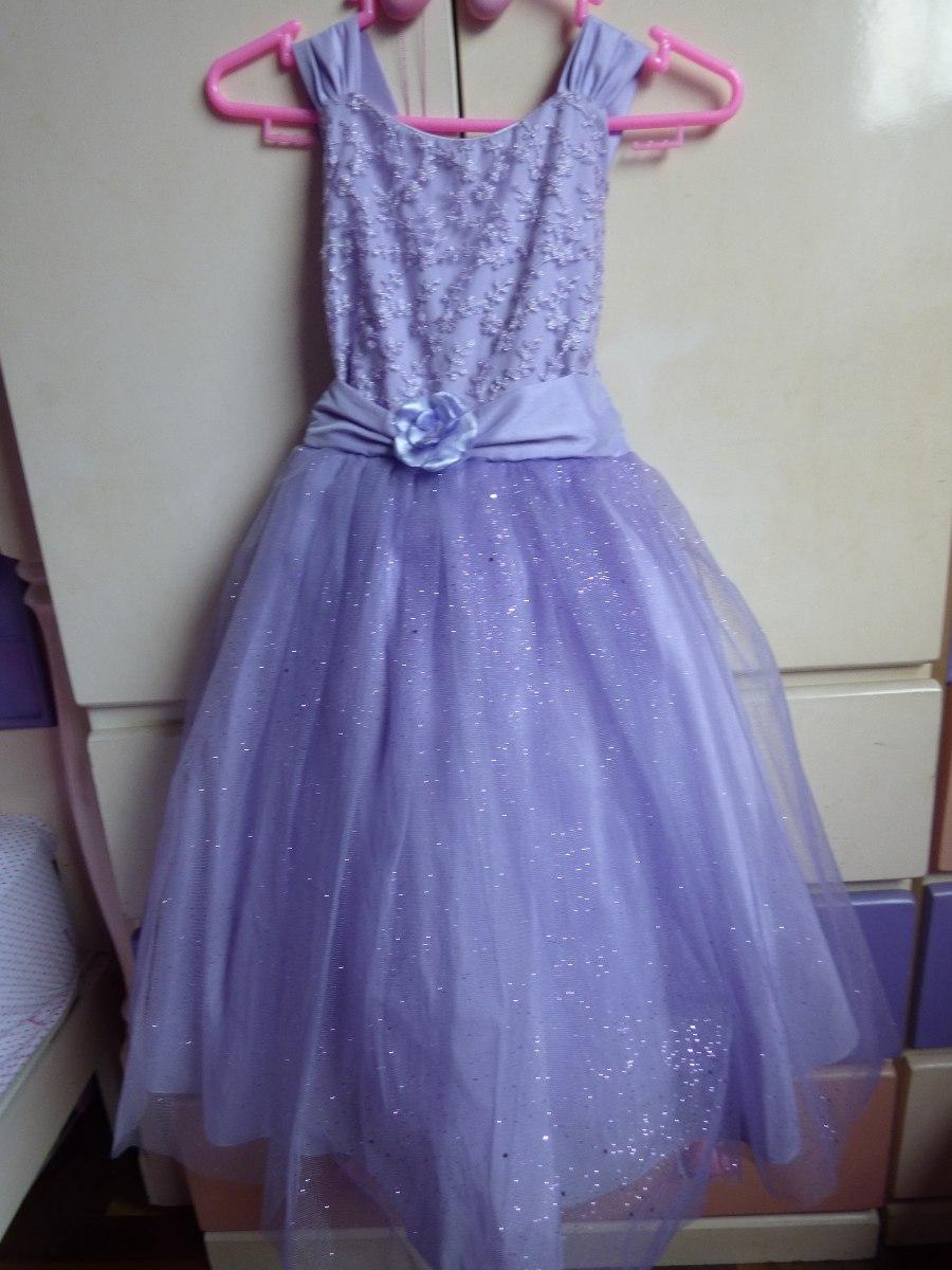 Vestido Fiesta Para Niñas - S/ 80,00 en Mercado Libre