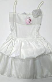 0ce328dec Vestidos De Raso Para Nenas - Fiesta de Niñas en Mercado Libre Argentina