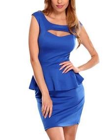 Vestido Fiesta Royal Blue Sexy Formal Vestidos Vestir Ds006