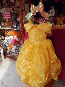 Vestido Fino De La Bella Y La Bestia T 6 8 Envío Gratis