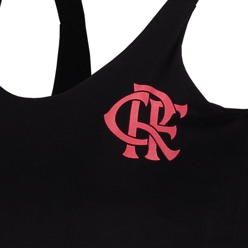 0244f900c4 Vestido Flamengo Secret Preto - R$ 74,90 em Mercado Livre