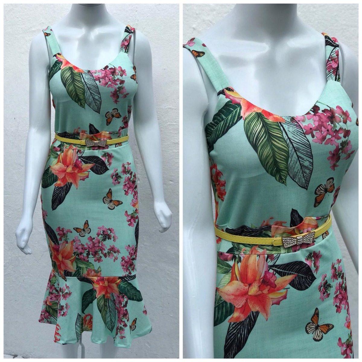 8aebdb2ba vestido floral babado sereia evangelica liquidacao verao. Carregando zoom.