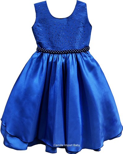 vestido floral festa luxo infantil borboleta 1 a 12 anos