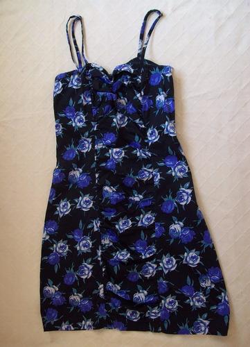 vestido floreado corto negociable
