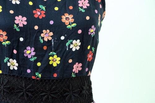 vestido floreado importado marca topshop - envios