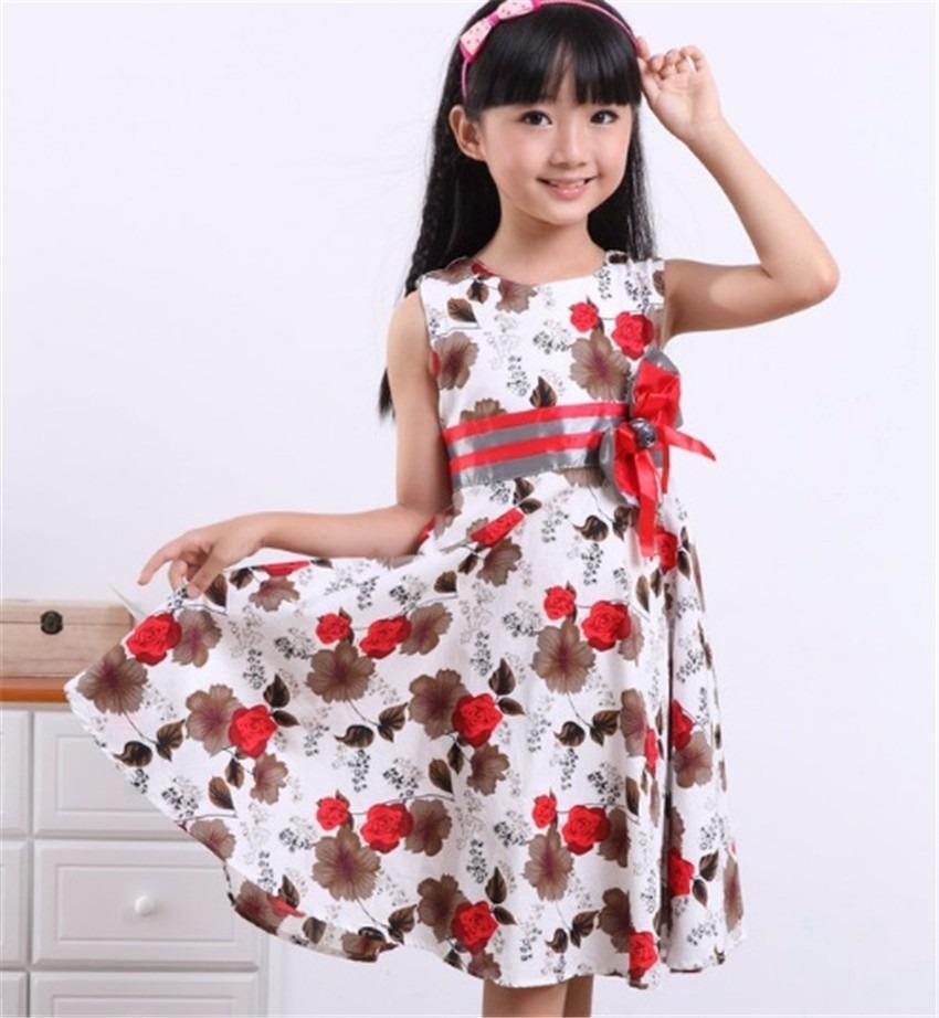 670f636ce Vestido Flores Niña Talla 4 - 5 - $ 43.000 en Mercado Libre