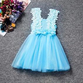 gran descuento diseño atemporal el mejor Vestido Flores Niñas Bautizo Cumpleaños Fiesta 3 Y 4 Años