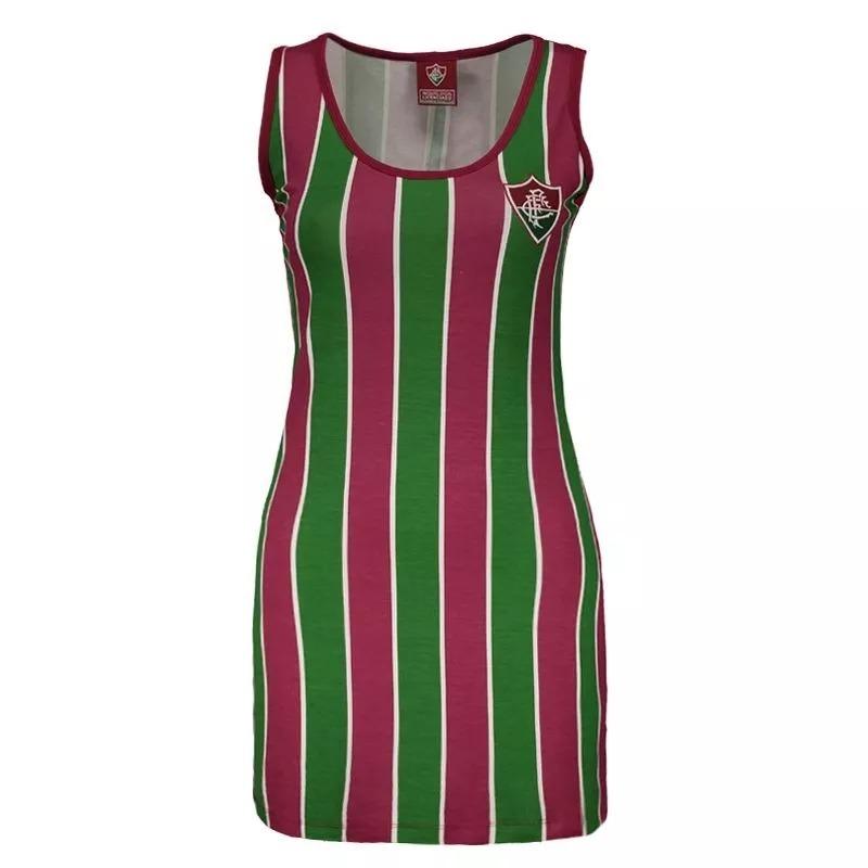 vestido fluminense tricolor oficial licenciado. Carregando zoom. 457a93556f3d4