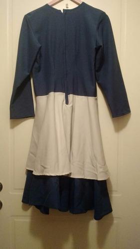 vestido folclorico
