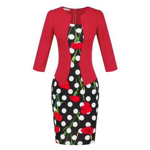 vestido formal elasticado ( solo el 2 y 4)