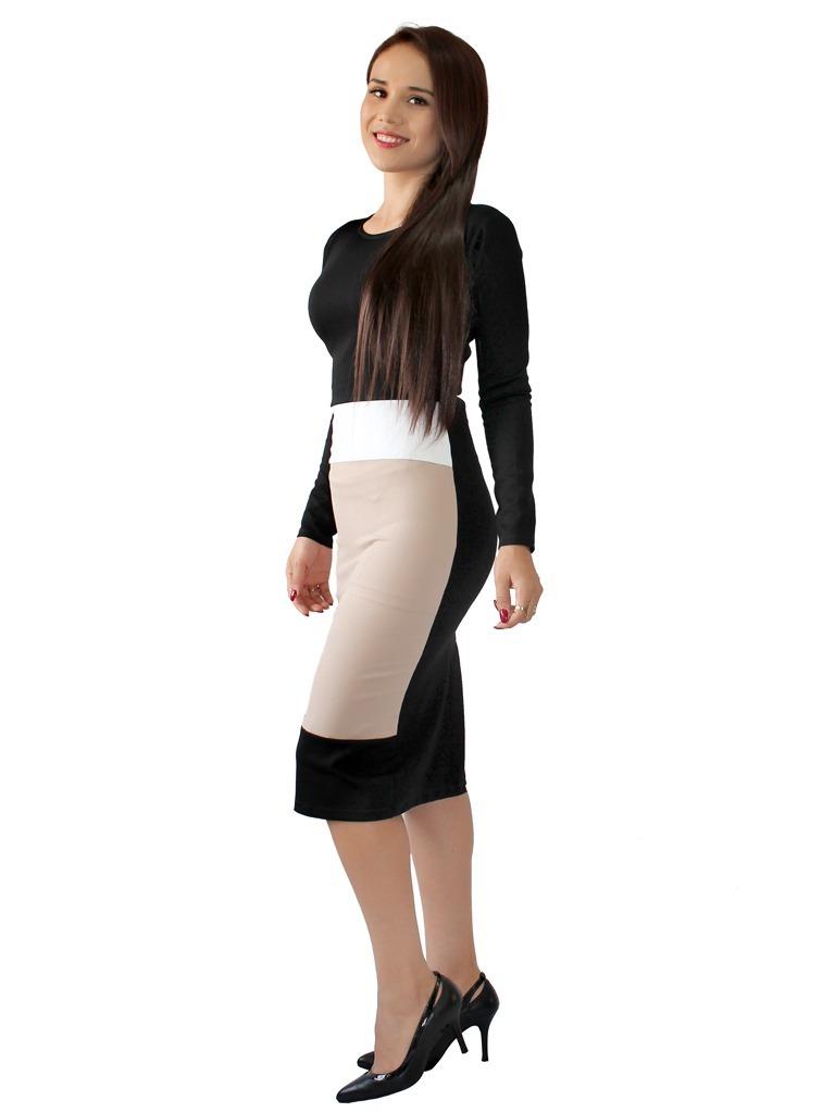 ac85f653413e4 vestido formal elegante para eventos o para oficina 2653. Cargando zoom.