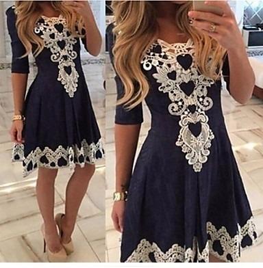 b1e614b1 Vestido Formal Encaje Blanco Moda Asiática - $ 459.00 en Mercado Libre