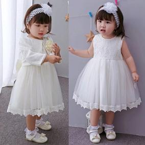 Vestido Formal Fiesta Niña 2 Años Bautismo
