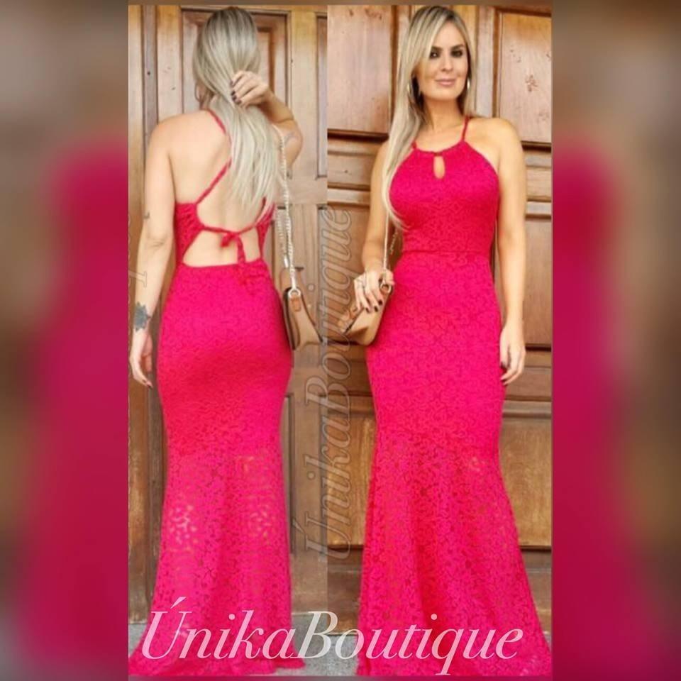 177aea8c8 vestido formanda madrinha rosa pink azul bic royal marinho. Carregando zoom.