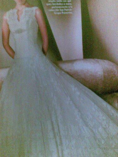 vestido frances tejido a mano