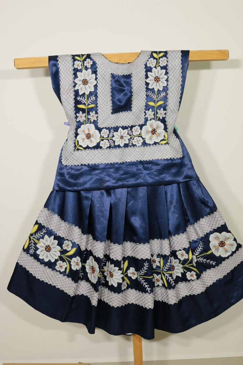Vestido Frida Kahlo Huipil Y Enagua Tradicional De Oaxaca 699900