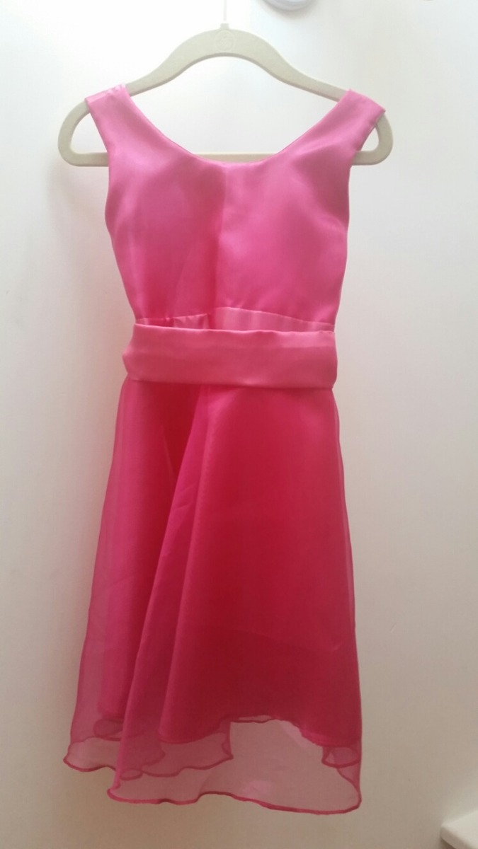 Vestido Fucsia Fiesta Nena Ocasion Especial - $ 230,00 en Mercado Libre