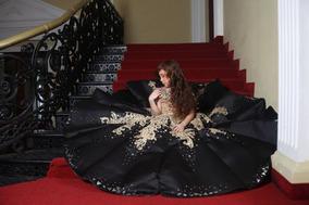 Vestidos de gala con medias negras