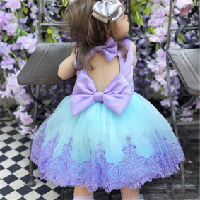 Vestido Gala Fiesta Sirenita Moda Niña Lindo Calidad Premium