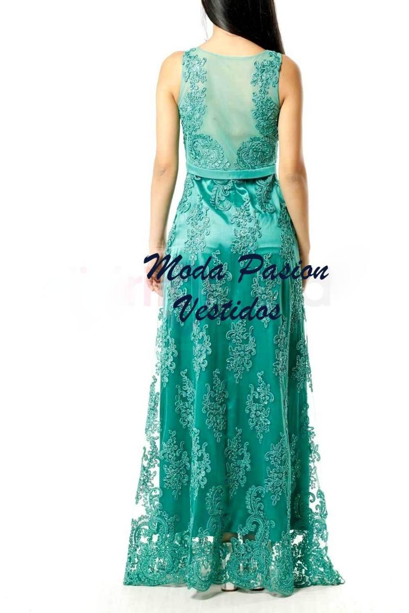 1201104d97 vestido gala largo guipur bordado bodas madrina moda pasion. Cargando zoom.