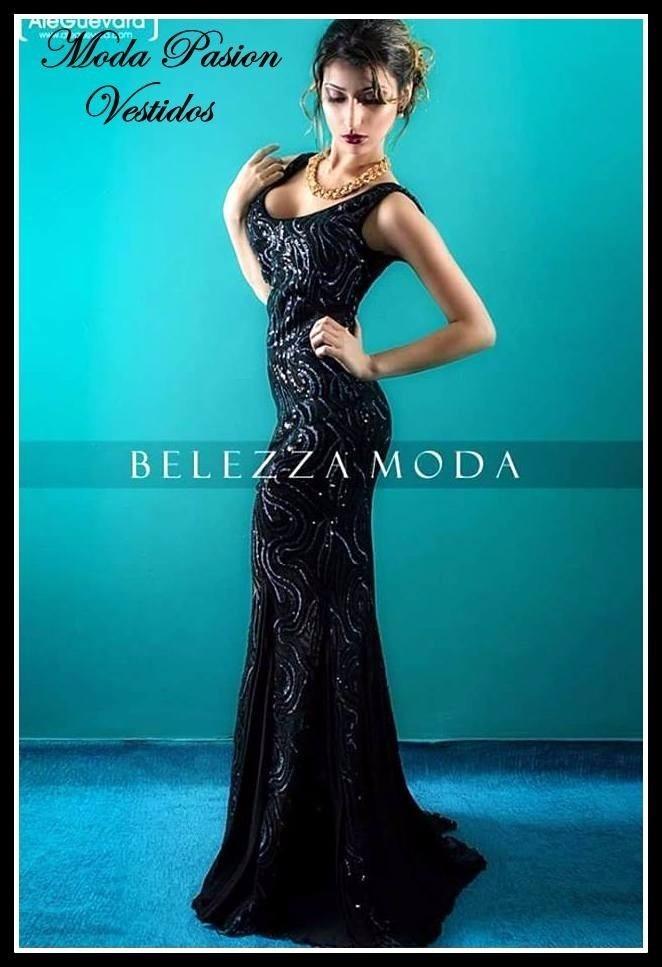 ab9c422dc vestido gala lentejuelas espalda descubierta moda pasion. Cargando zoom.