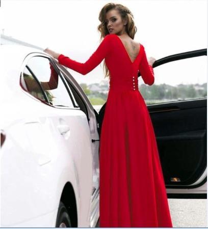 f06b5da95420 Vestido Gala Matrimonio Fiesta Cóctel Rojo