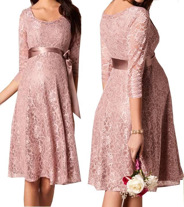 Vestido Gestante Casamento Civil Renda Soltinho Noiva Vrm143