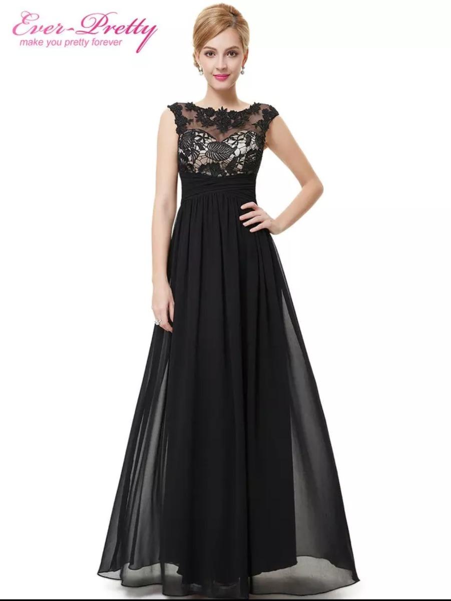 67e834f372 vestido gg preto casamento formatura mãe de aniversariante. Carregando zoom.