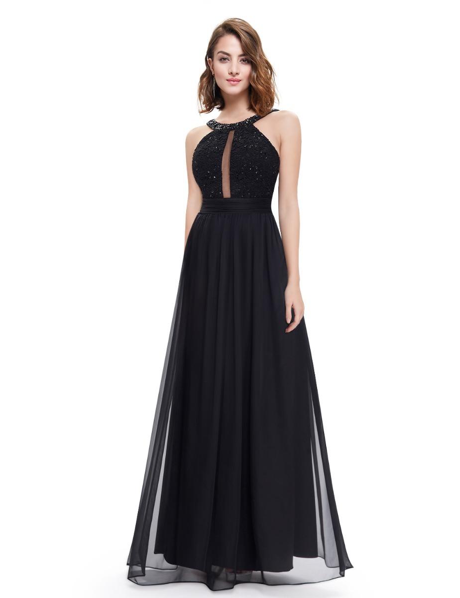 ba97f0b768 vestido gg tam 46 preto casamento madrinha formatura. Carregando zoom.