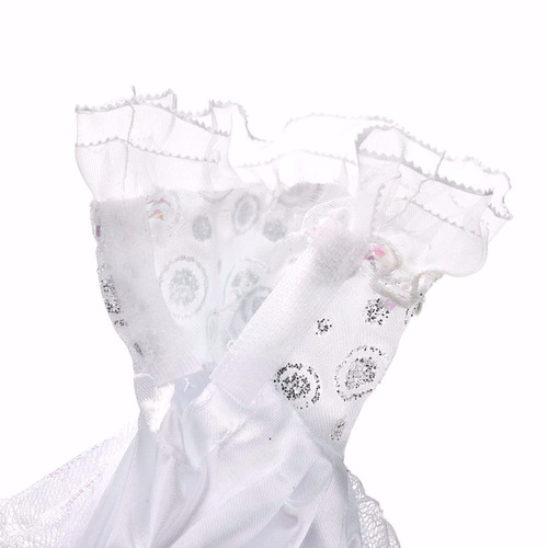vestido glamour noiva festa p/ boneca barbie - princesas