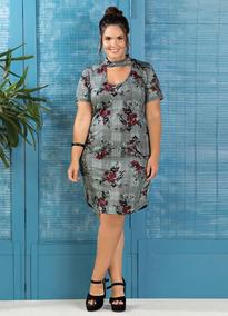 8d630e4904d1 Vestido Plus Size Festa Curto Luxo - Vestidos com o Melhores Preços ...