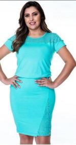 98910c07476c Vestido Plus Size Moda Evangelica - Vestidos Femeninos Curto com o Melhores  Preços no Mercado Livre Brasil