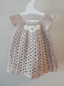 Vestido Hecho A Mano Crochet Niña