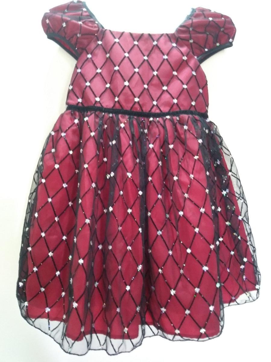 Vestido Hermoso Fiesta Rojo/negro Talla 5 - Bs. 2.900.000,00 en ...