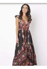 5b4cd192b Vestido Boho Chic - Casual de Mujer en Mercado Libre Argentina