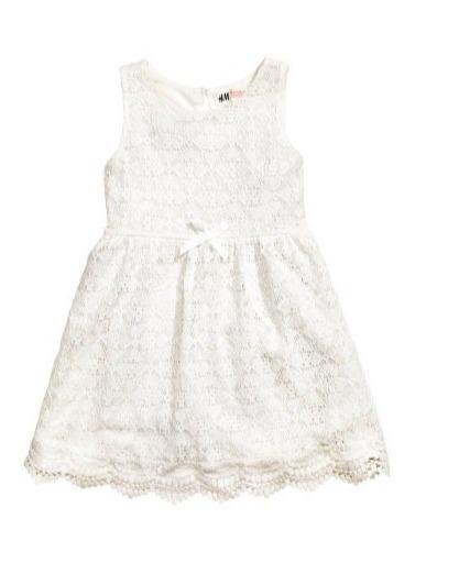 ea4baf041 Vestido H&m Fiesta Para Niña Talla 4 A 6 Años